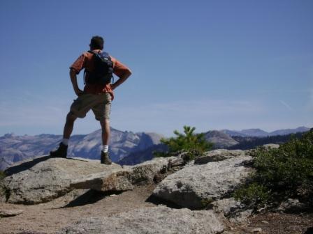 Schmuck 1 looks over Yosemite Valley